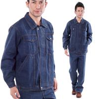 Denim work wear men winter100% cotton thickening coveralls for men  free shipping