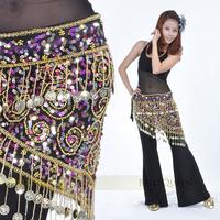 Belly Dance Costume Triangle Hip Scarf Dancing Skirt Wrap Belt