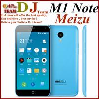 "In Stock Original Meizu M1 Note Noblue Note 4G LTE Dual SIM Mobile Phone 5.5"" 1080P MTK6752 64bit Octa Core 13.0MP Android 4.4"