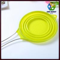 cocina High quality silicone foldable Colanders & Strainers, Noodle basket, Pasta colander