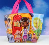 High quality  Free shipping dhl130pcs /lot doctor  kids Mini bag,Children's cartoon nylon bag/Waterproof bag /handbag,