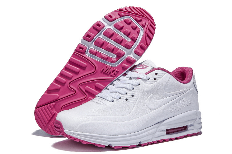 Nike Air Max Mujer Blancas Con Rosado