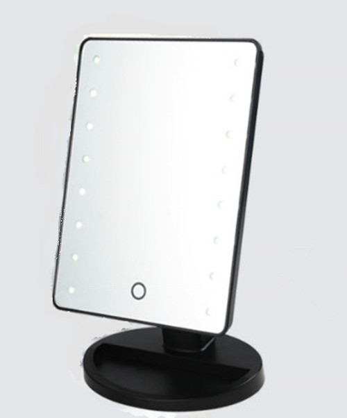 led lighted makeup mirror. Black Bedroom Furniture Sets. Home Design Ideas