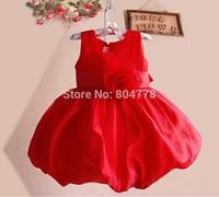 Baby Party Dress Flower Girl's Dress Flower Children Princess Dress Summer Sleeveless Dress 0-4Y