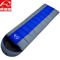 Outdoor sleeping bag thickening sleeping bag thermal camping sleeping bag