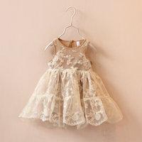 2015 Girl's summer lace dress , girls dresses ,girl dress , 6pcs/lot   MWQ01