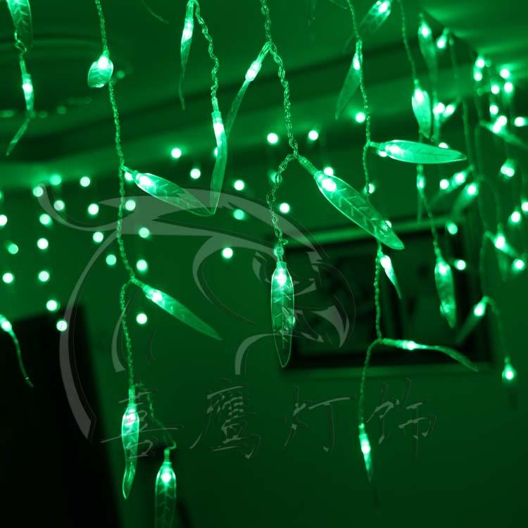 Christmas lights, decoration KTV stores. Set decoration flash. The stars light 192 head of willow LED holiday lights series(China (Mainland))