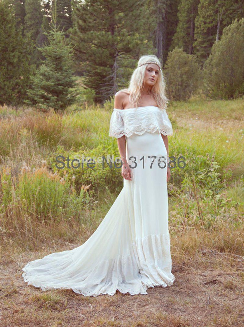 Vestidos de novia con trenes largos