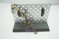 2015new lol key chain Caitlyn gun key chain bronze color 12 cm LOL45