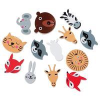 Wood Cabochons Scrapbooking Embellishments Findings Animal At Random 3cm x2.9cm- 27mm x22mm,100 PCs 2015 new