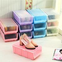 Thickening clear shoebox drawer plastic shoe hanger storage box
