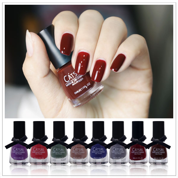 authentic CATSRE aqueous pregnant strippable tasteless non-toxic nail polish can be torn fingernail oil glue nude color(China (Mainland))