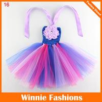 children's Princess wedding dresses girls dress children dresses children dancing dress skirt 16 colors