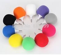 Fashion Hotsell Multi-Color Creative Mini MP3 Music Balloon Speaker Cute Music Ball for ipad iphone ipod Samsung MP3 player