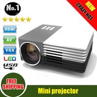 Digital Mobile Mini 3D Projector support 1080P,Max 1200Lumens,Perfect pico mini led Projector