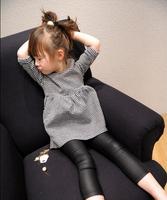 Retail 2015 New Spring Autumn Princess Dress Children Clothing Baby Girls Kids Dresses Girls Clothes AB649