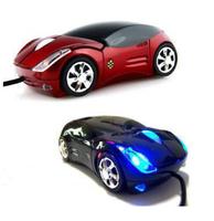 3D car Shape Optical wireless 2.4GHz Mouse for computer Laptop (black)