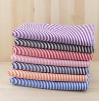 7pcs Stripe 100% Cotton Patchwork Fabric for DIY Sewing Quilting Tissue extiles Tilda Doll Cloth Fabric 50*50cm Quarters