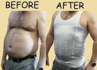 As Seen on TV Slim N Fit Body Shaper for Men Corset Vest Sport Gilet top Belly Buster Body Shapwear Plus Size