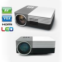 Mini Digital LED Video 3D HD Projector support 1080P Max 1200Lumens Home theater mini led Projector