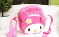 Hot Selling Cartoon Melody bags Animal Shopping Bag Messenger Bags Shoulder Zip Coin Purse Wallet