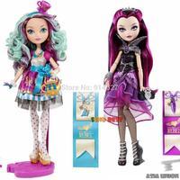 SINO BEST Genuine Original Ever After High Raven Queen / Madeline Hatter / Dolls For Girls /  Brand Birthday Gifts Baby toys