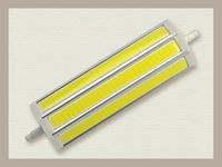 10PCS/Lot Free Shipping 189mm 15w R7S LED Bulb 3000K/4000K/6000K AC 85-265V COB LED R7S Lamp 189MM 15W COB R7S