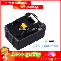 18V Li-ion 2.6 Ah Replacement for makita BL1830, LXT400,194205-1,194205-3,194230-4,194205-5 ,BTD140 ,BTL061F Power Tool Battery