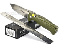 Ganzo G720-G G720 Camping Knife Multi Tool Window Breaker 440C Blade Green Handle w String Bag and Paper box