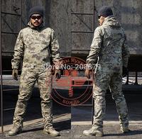 Chiefs Men's Military  BDU Tactical Combat  Hunting T Shirt  & Pant Outer camouflage CS  training uniform suits