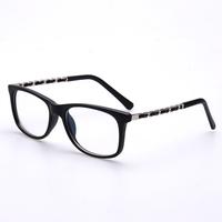Vintage female coating glasses frame plain glass spectacles 2015 plain mirror female knitted myopia eyeglasses frame