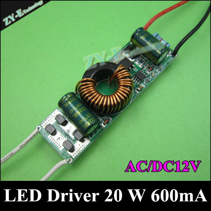 Трансформатор освещения New brand 2 /20 W ac/dc12/24v, 600 20W 10 2 freeshippi ZY1224-D20