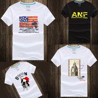 Men's Fashion Headset T-shirt Summer Top Short Sleeve Clothing Fashion Man's t Shirt Brand Man T-Shirts Round O-Neck T Shirt
