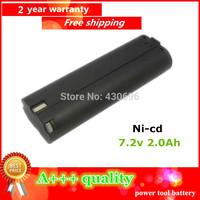 Ni-cd  7.6v 2.0Ah Replacement  for MAKITA  191681-2 192533-0 632007-4 9000 9001 9002 96 power tool battery  ,