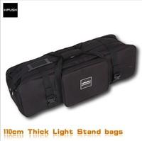 Free Shipping!!! HPUSN Thickening Photo Video Studio Kit Set Studio Light Stands Large Carrying Bag 110cmX25cmX29cm
