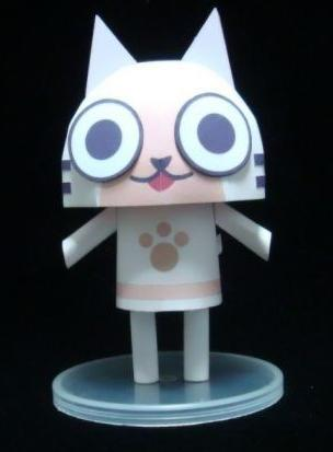 [cat village paper model raging] warm(China (Mainland))