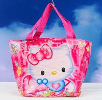 High quality  Free shipping 1pcs /lot HELLO KITTY kids Mini bag,Children's cartoon nylon bag/Waterproof bag /handbag,BEST GIFT