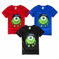 2015 Children Kids Clothing Tees,100%Cotton Print Cartoon Baby Boys T shirts,Fashion Summer T-shirts Children t shirts Tops Tees