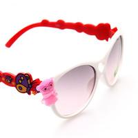 new 2015 cartoon kids sunglasses wholesale 24pcs/lot free shipping