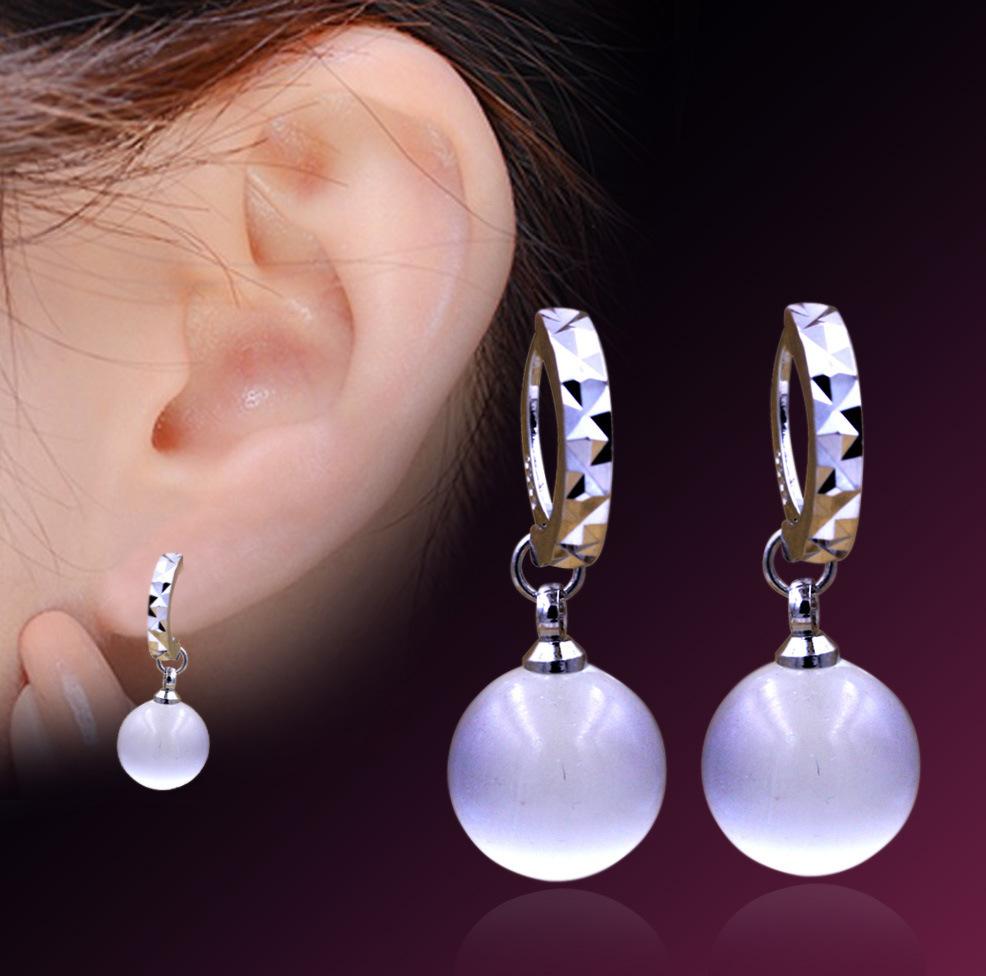 Серьги висячие Svarovski channel rhinestone earrings for women 2015 925 rhionstone svarovski channel rhinestone earrings for women WHE011 rhinestone glass ball dry sakura earrings