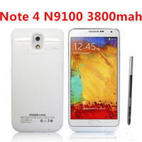 Cell phones cases for SAMSUNG GALAXY Note 4 N9100 3800mah External Backup Battery Charger Case