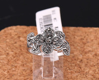 Promotion Special 18K Gold Plated Female Index Finger Vintage Flower Ring Free Shipping