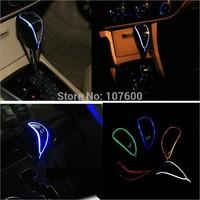 1x Automatic LED sensor light-emitting car stalls stand head gear stick head modified universal Auto shift knob