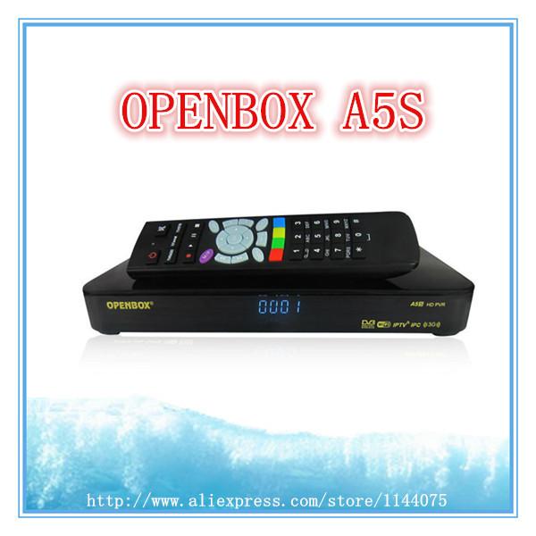 Digital HD receptor satellite New Openbox A5S decoder full hd better than Skybox F5S openbox x5 Support 3G IPTV YouTube(China (Mainland))