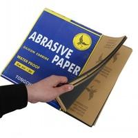 10pcs/lot Waterproof sandpaper 800/1000/1200/1500/2000 # grit sandpaper skin abrasion polished water /224