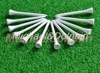 Free Shipping 100pcs New 54mm Golf wooden Tees Wooden Golf Tees golf wood tee