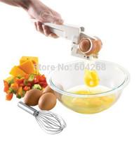 Kitchen Gadget Tool Egg Cracker Egg Beaters Separator Egg Separator Crack Eggs