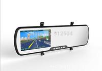 4.3inch 1080P Dual Lens Car DVR Mirror Monitor Full HD H.264 140 Angle camera Gsensor