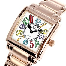 Unique Design 316 Stainless Steel Women Luxury Water Resistance Wrist Watches Ionic Rose Gold Plated Switzerland