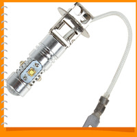 500LM H3 25W Cree LED Fog Lamp Bulb High Power Ultra Bright White Auto Car LED Fog Light Bulb Dropship & Wholesale